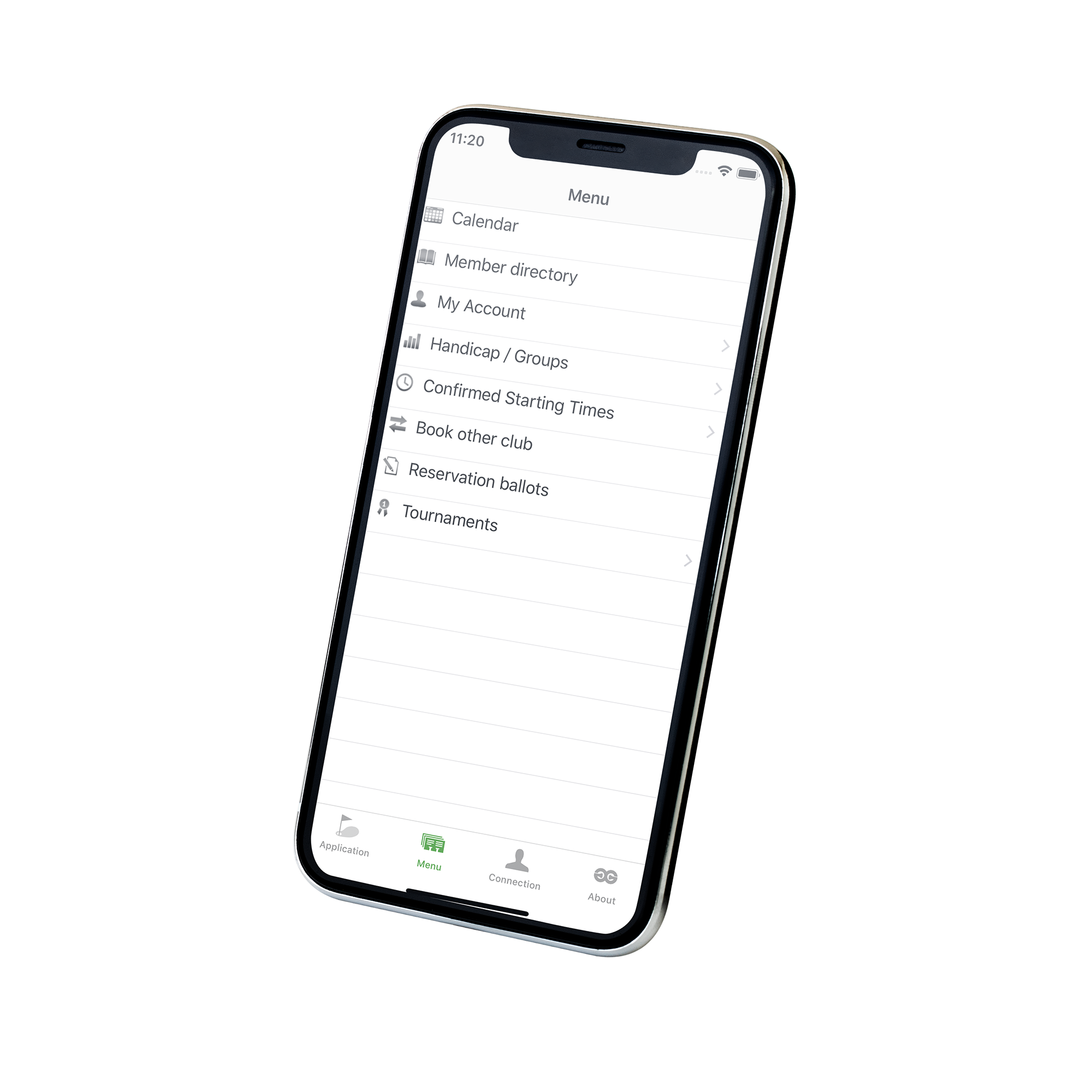 Phone Mockup - slanted